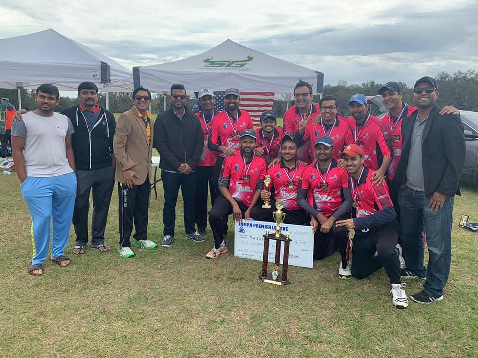 Aryans Cricket Club of Tampa Bay create History, Win League Undefeated